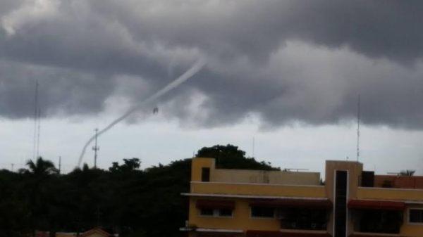 unnamed4 VIDEOS   El fenómeno meteorológico RARO de ayer en Santo Domingo