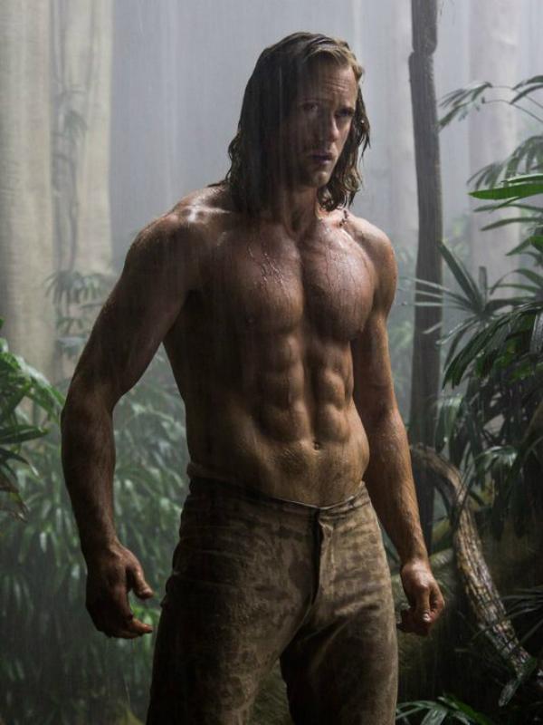 alexander skarsgard tarzan Revelan imagen del nuevo Tarzan