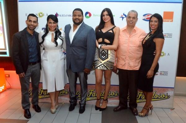 Carlos Manuel Plasencia, Celines Toribio, Oscar Carrasquillo, Eva Arias, Felipe Polanco y Lizbeth Santos