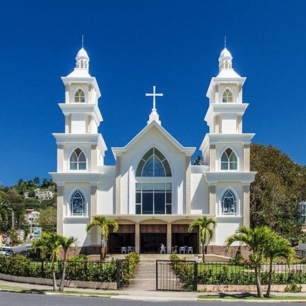 iglesia santa barbara Rincones chulos de Quisqueya: Samaná