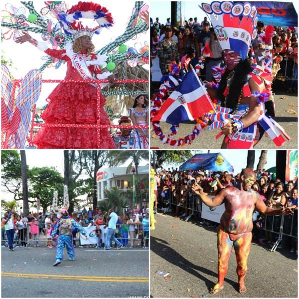 carnaval Fotos chulas del Carnaval de Santo Domingo 2016