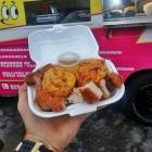 street Festival de comida de calle en Santo Domingo
