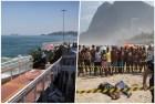 collage desplome Dos muertos en desplome tramo pista Juegos Olímpicos (Brasil)
