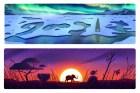 Día de la Tierra - Google Doodle