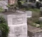 fo Nos esta matando el mal olor de este cementerio