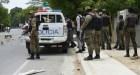matan policia durante protesta Matan agente policial durante protesta (RD)