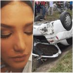 miss Ex Miss RD sufre accidente y luego la atracan