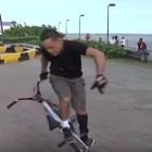 bmx Acróbatas dominicanos de las bicicletas