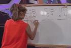 Error matemático de una modelo