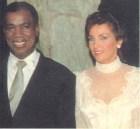 Peña Gomez junto a Peggy Cabral