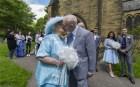 Se casan después de 44 años de noviazgo