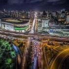 stodgo Impresionantes imágenes de Santo Domingo de noche