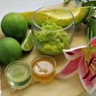 aguacate Aguacate, limón, miel y aceite de oliva