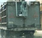 basura Camión de basura como ambulancia