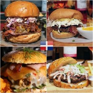finalistas Finalistas: Mejores hamburguesas de RD 2016