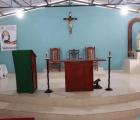 iglesia Se roban abanicos y bocinas de iglesia de Santiago
