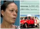 Mujer paga por uso del 911