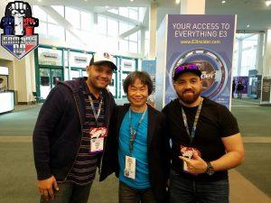 Los panas de GamersRD se toparon con Shigeru Miyamoto,el Creador de Super Mario Bros de The Legend of Zelda entre otros.