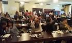 Alcalde y regidores en Santiago