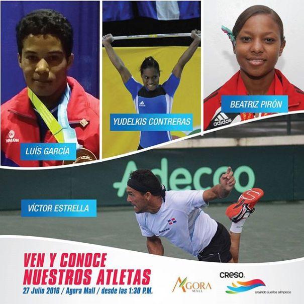 at Conoce personalmente a los atletas olímpicos dominicanos