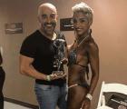 Raulito y su esposa