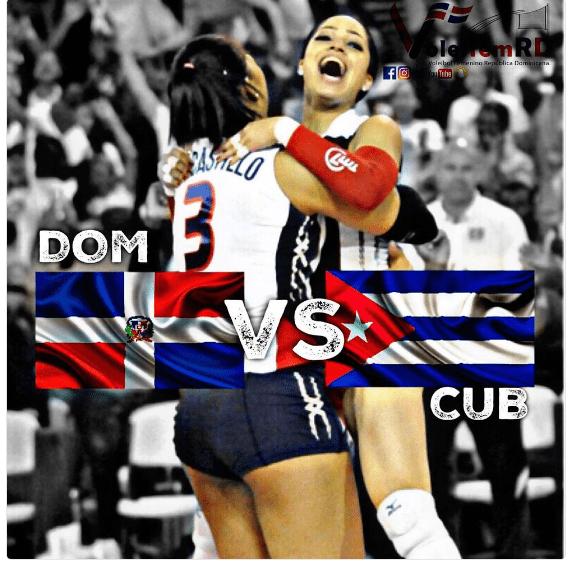 reinas1 HOY   República Dominicana vs. Cuba (Voleibol)