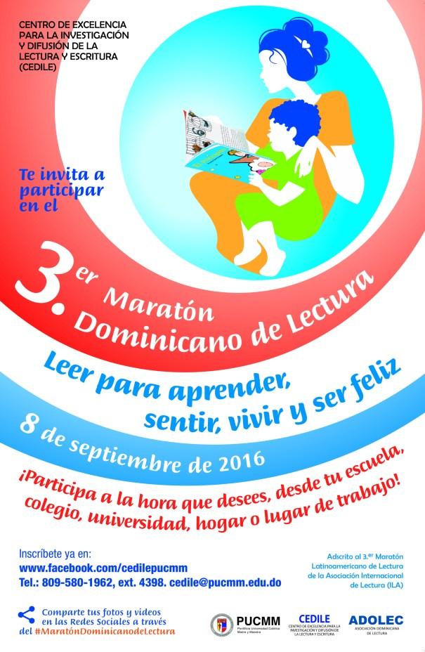 3er. Maratón Dominicano de Lectura