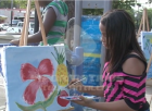 Jornada de pintura en la Zona Colonial