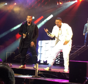mega Fotos   Don Omar y Daddy Yankee en El Madison