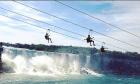 Zipline en las Cataratas del Niágara