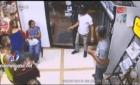 asaltto en santiago Video   Así asaltaron esta farmacia en Santiago