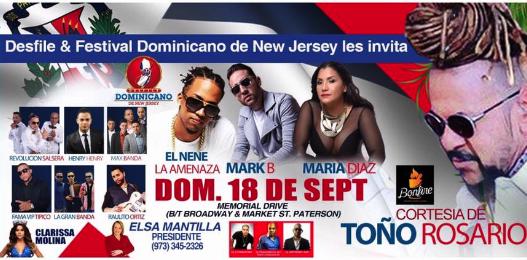 Desfile Dominicanos de New Jersey 2016