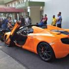 lambo Matan hombre en su McLaren P1 en Santiago