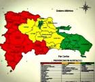 alerta RD    Suspenden docencia en 24 provincias