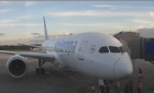 boeging 787 drealimer Aterriza en RD el avión mas rápido y moderno del mundo