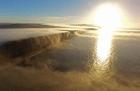 dron Video   Dron capta el increíble momento de una niebla