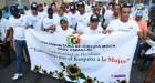 marcha contra la violencia a la mujer Hombres marchan contra la violencia a la mujer (Moca)