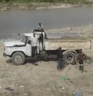rio Continúa extracción de arena del río Nigua