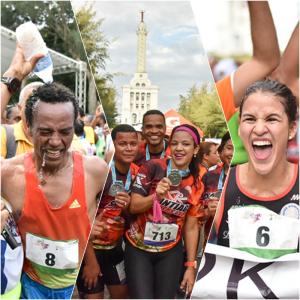 santiago race Video   El Maraton de Santiago