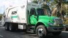 camion basura Recogen 550 toneladas basura en las noches DN