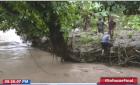 moca1 Haitiano es arrastrado por río Moca