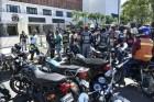 motoconchistas congreso Motoconchistas se riegan frente al Congreso