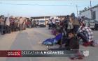 inmigrantes Rescatan a 110 inmigrantes de morir asfixiados