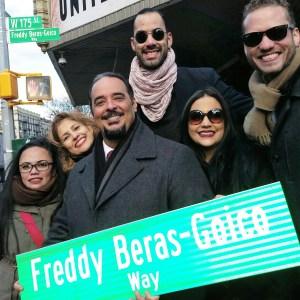 ramon Freddy Beras Goico Way, oficialmente inaugurada en NY