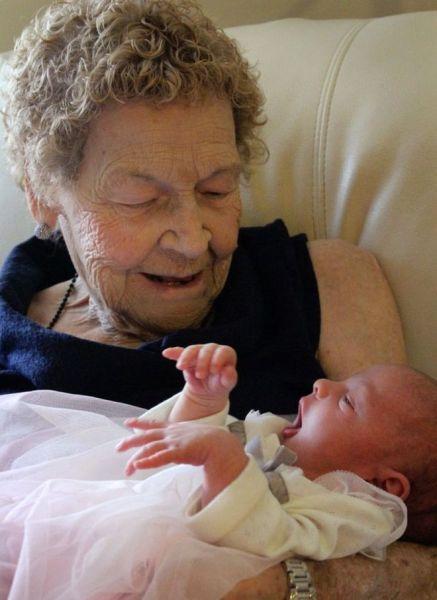 tatarabuela Seis generaciones