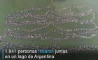 argentina Récord Guinness en flotadera