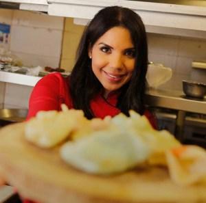 """chef tita Chef dominicana en """"Madrid Fusión 2017"""""""
