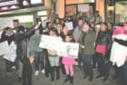 Criollos protestan por situación de edificios en NY