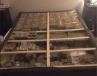 millones en eeuu Un tipo tenía US$20 millones debajo del colchón