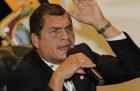 rafael correa Correa quiere revelen pronto nombres de lío Odebrecht en Ecuador